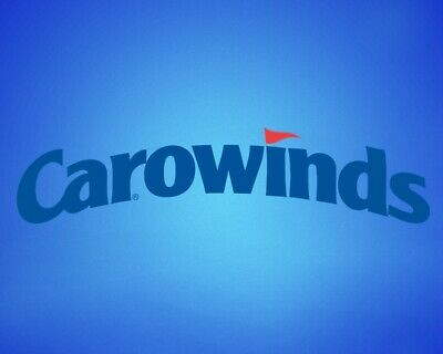2 CAROWINDS THEME PARK TICKETS - Adult or Child - Charlotte NC