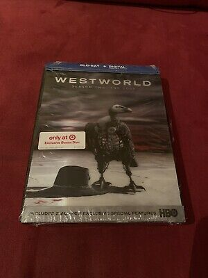 Westworld Season 2 The Door Target Exclusive Blu Ray NEW Lenticular Cover