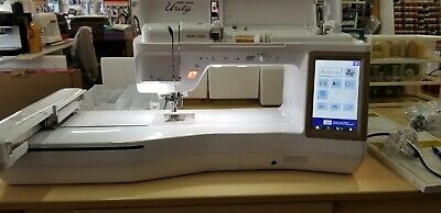 Babylock Unity BLTY sewing and embroidery machine with extras