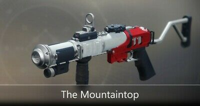 Destiny 2 - The Mountaintop Full Quest - 2100 Glory  PC Only