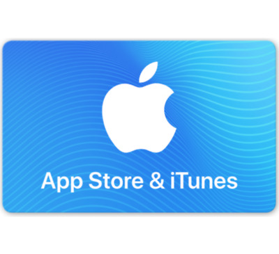 App Store - iTunes Gift Cards - 25 50 or 100 Email-Delivery