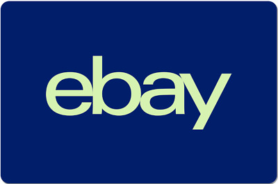 eBay Gift Card 10 to 200 -  Email Delivery