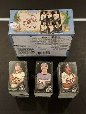 2019 ALLEN - GINTER X MINI YOU PICK COMPLETE YOUR SET 151-400 ONLINE EXCLUSIVE