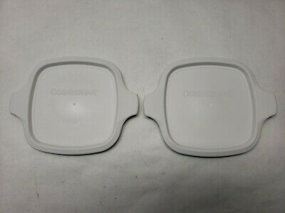 2 NEW  Plastic Lids  P-43-PC for CORNING WARE Petite Pan P-41-B and P-43-B