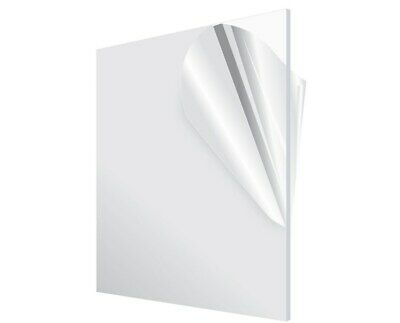 AdirOffice  Plexiglass 18 Thick Clear Acrylic Sheet Choose Sheet Size - Count
