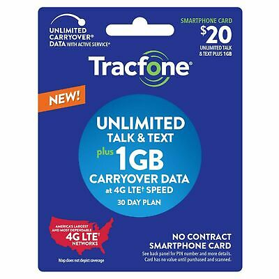 Tracfone Prepaid Unlimited Wireless Phone Plans - 30 Day Airtime Plans