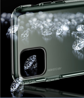 For iPhone 11 Pro Max Crystal Clear Case-Anti-Spy Privacy Screen Protector Cover