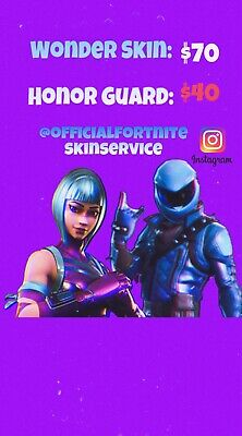 Fortnite Honor Guard SkinHuawei View20 RedeemKey 1 Min DELIVERY Trusted Seller