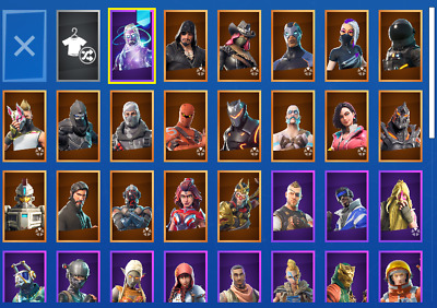 Fortnite account with galaxy skin PC ONLY