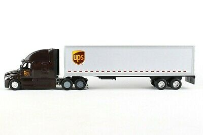 UPS Die cast Tractor Trailer 164 Scale 11-5 inch Long GW68061