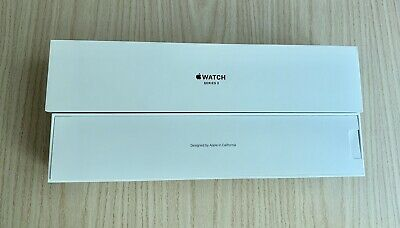 Apple Watch Series 3 38MM Space Gray  GPS - Cellular EMPTY BOX ONLY