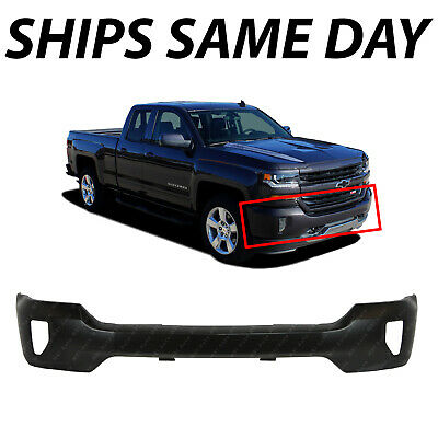 NEW Primered Steel - Front Bumper Face Bar for 2016-2018 Chevy Silverado w Fog