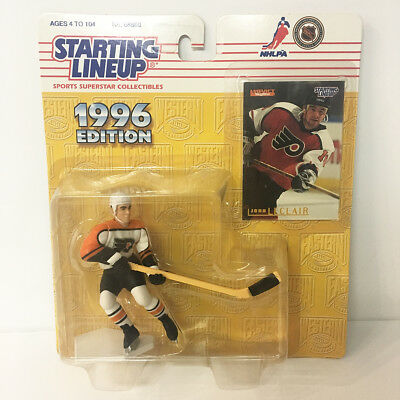 1996 John LeClair NHL Starting Lineup Figure The Flyers Kenner NIP unopened NEW