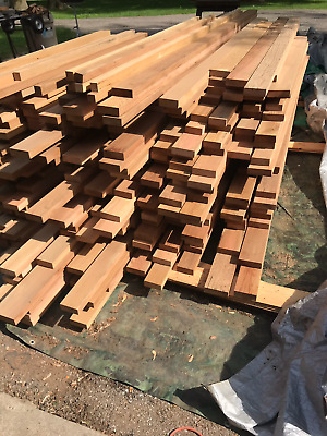 California redwood clear heartwood lumber old growth boards 2000 linear feet