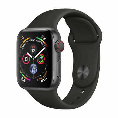 NEW APPLE WATCH SERIES 4 GPS LTE CELLULAR 44mm ALUMINUM SPACE GRAY MTUW2LLA