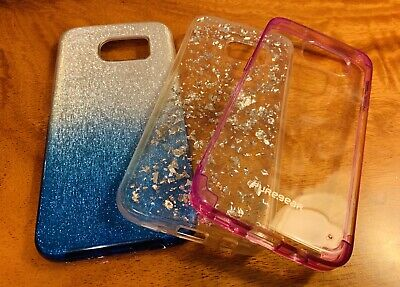 Lot Of 3 Samsung Edge S7 Phone Cases Fitted Cases