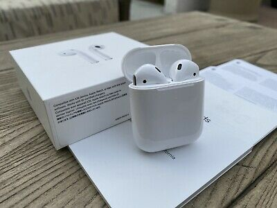 Apple AirPods 2nd Generation with Wireless Charging Case Brand New Latest Model