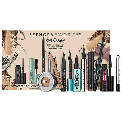 SEPHORA Eye Candy Favorites 9 Piece Set Kat Von D - Fenty - Benefit More