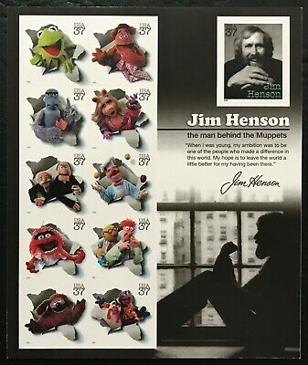 2005 Scott 3944 - 37¢ - JIM HENSON - THE MUPPETS - Sheet of 11 - Mint NH