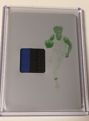 2019-20 National Treasures Collegiate MARVIN BAGLEY Patch Print Plate 11 DUKE