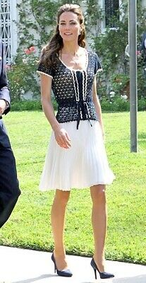 Whistles Crochet Top ASO Kate Middleton