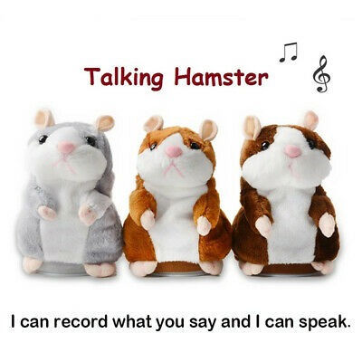 Talking Hamster Plush Toy Lovely Speaking Sound Record Repeat Kids Toy Cute Gift