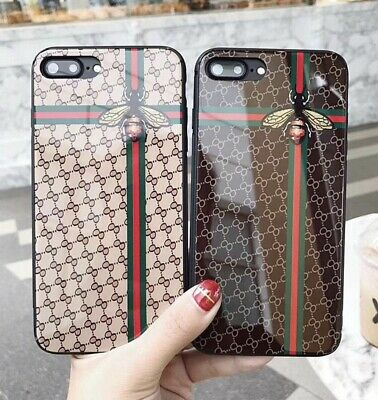 luxury Case For iPhone 11 Pro Max 7- XS Max XR SE Protective Hybrid Bee GG