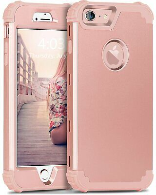 iPhone 6  6S Case Heavy Duty Shockproof Full Body Protective Cover Rose Gold