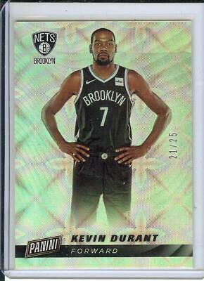 2013 Panini Cyber Monday Kevin Durant card-serial d 2125