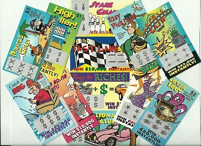 12 FaKe GaG JoKe PrAnK LoTTo LoTTeRy TiCkEtS Special Price 4-49  FREE Shipping