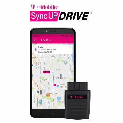 T-Mobile Sync Up SyncUP DRIVE 4G LTE WIFI OBD-II Car - Mobile Hotspot SD6200