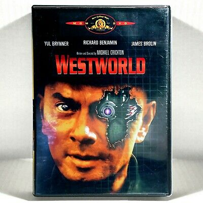 Westworld DVD 1973 Widescreen  Yul Brynner   James Brolin