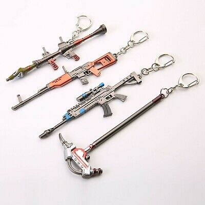 Game Fortnite Battle Royale Assault Weapon - Pickaxe Toy Keychain 4-7 - 5-5