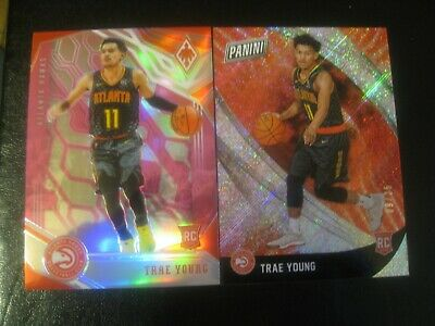 2018 Panini Trae Young Chronicles Phoenix Pink 1575 - Black Friday Rapture 925