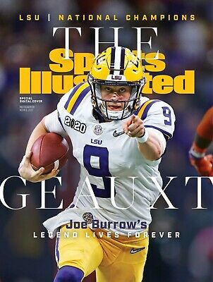 LSU Tigers Football National Champions Sports Illustrated SI Cover Photo