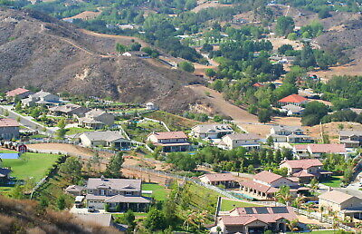 2 lots sold togethe surrounded by Hillsides IN Santa Clarita Valley Los Angeles