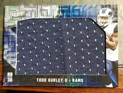 2018 Panini Black Friday Jumbo Materials Escher Squares25 TG Todd Gurley II