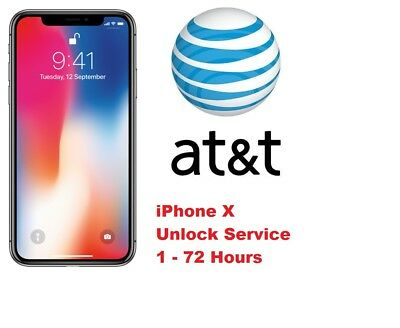 iPhone X XR XS  XS Max AT-T FACTORY UNLOCK CODE SERVICE - CLEAN IMEI FAST