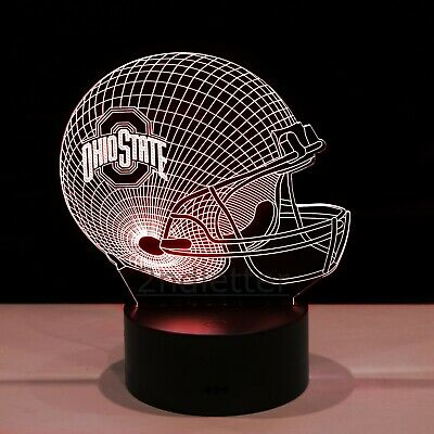 Ohio State Buckeyes OSU College Football LED Light Lamp Collectible Gift