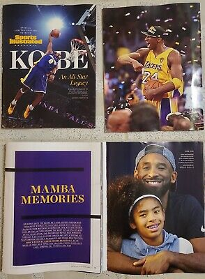 2020 NBA All-Star Game Sports Illustrated Limited Edition Kobe Bryant Tribute