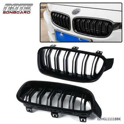 2Pcs Front Kidney Grille For F30 F35 12-15 320i 325i 328i 335i M3 2012-2015