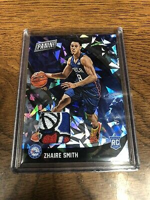 Zhaire Smith 2018 Panini Black Friday 15 Sick Patch- 76ers
