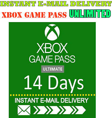 Xbox Live Gold -  Xbox Game PASS Ultimate 14 Day 2 Weeks INSTANT DELIVERY