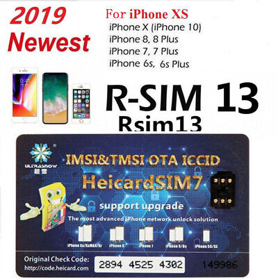 Heicard Unlock Turbo SIM Card Nano-SIM Chip For iPhone XXS66S788 Plus 4G