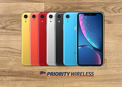 Apple iPhone XR 64128256GB Xfinity AT-T T-Mobile Verizon Sprint Unlocked