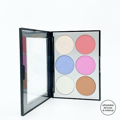 NEW Sephora Collection Holographic Face - Cheek Palette  6 Shades Full Size