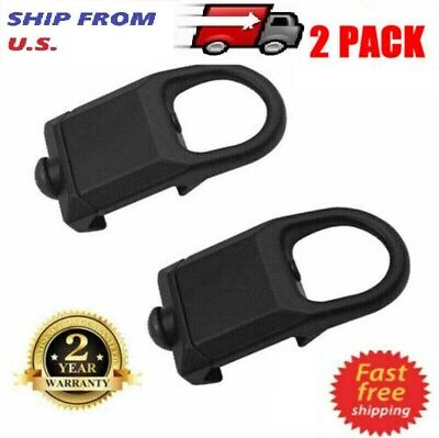 2Pack Rail Mount Sling Adapter RSA Low Profile Attachment Point Picatinny Weaver