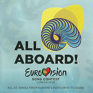Various - Eurovision Song Contest Lisbon 2018 - All Aboard CD Like new