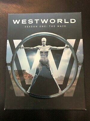 💎 Westworld The Maze - The Complete First Season on Blu-Ray - 2017 💎