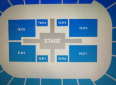 Roger Waters Kansas City 4 Tickets Section Floor 2 Row 10 Hard Tickets Date TBD
